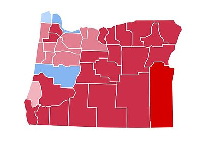 1984 United States presidential election in Oregon - Wikipedia