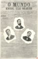 O Mundo - Luís Derouet, França Borges, Mayer Garção (Album Republicano, 1908).png