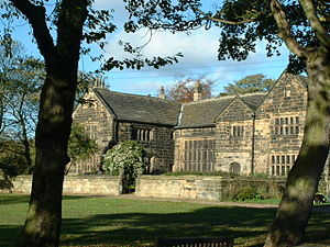 Oakwell Hall - The exterior of the hall