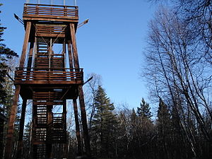 Duck Mountain Provincial Park (Manitoba) - Observation tower.