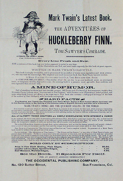 a description of the early influences on huckleberry finn What distinguishes huckleberry finn from the others is the moral dilemma huck faces in aiding the runaway slave jim while at the same time escaping from the unwanted influences of so-called.