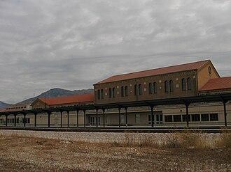 Union Station (Ogden, Utah) - Station building trackside