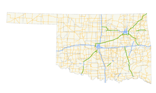 Turnpikes of Oklahoma highway system