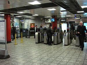 Old Street Roundabout - Old Street station ticket hall.