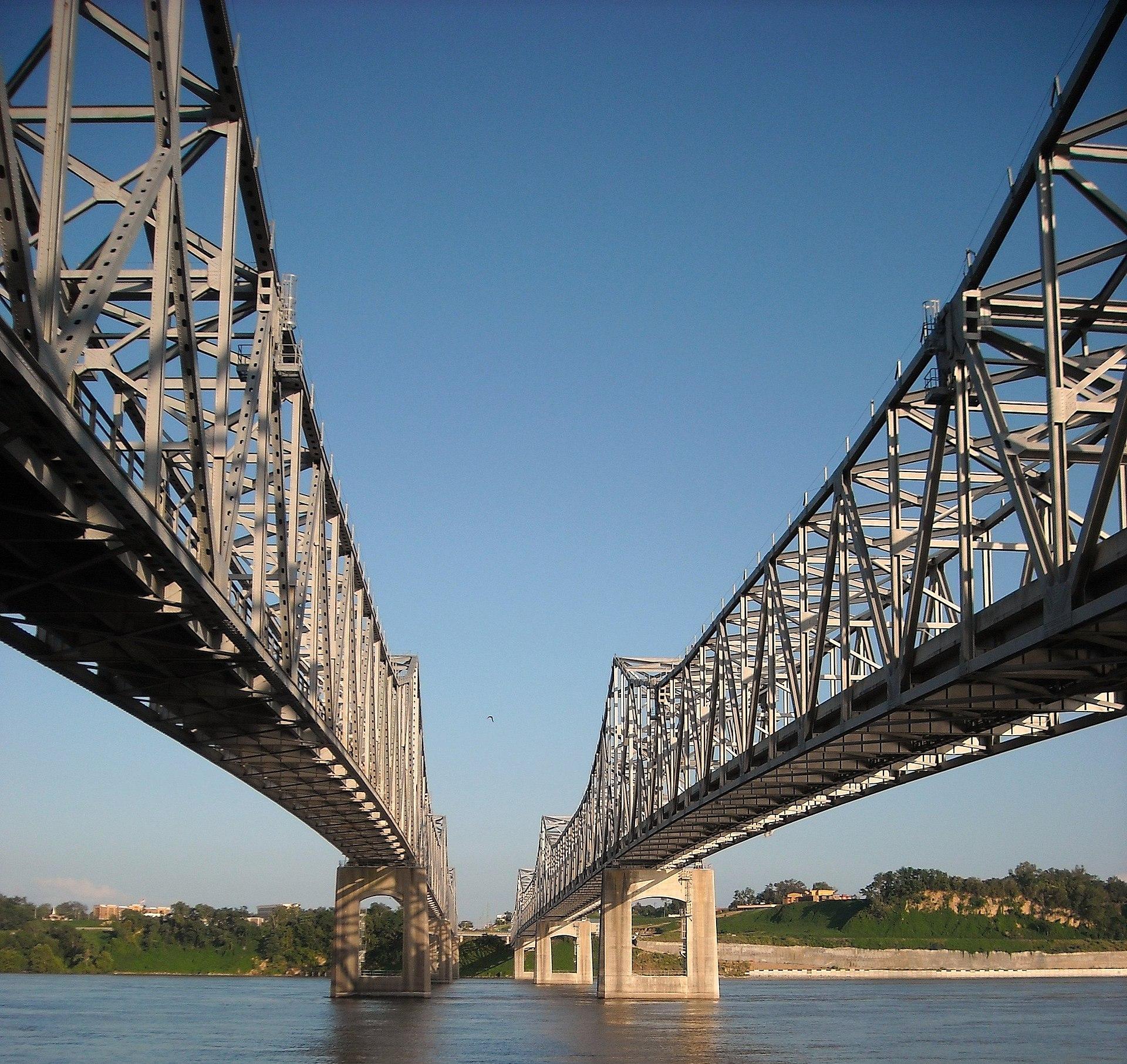 Natchez–Vidalia Bridge - Wikipedia