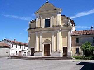Olmeneta Comune in Lombardy, Italy