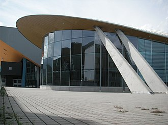 Tyrolean Ice Arena - Image: Olympia sport center panoramio