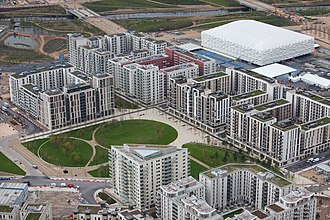 East Village, London - Image: Olympic Village, London, 16 April 2012 (1)