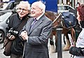 On October 29, 2011, two days after the presidential election was held, Higgins was declared President-elect of Ireland.jpg