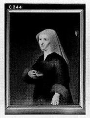 Cornelia Schoor (overl. ca.1487). Echtgenote van Adriaen Sandelin
