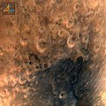One of the first images of the surface of Mars taken by the Mangalyaan on September 25, 2014.jpg