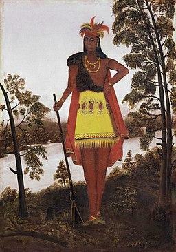 Oneida Chieftain Shikellamy by Anonymous