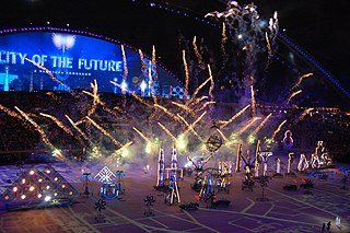 2006 Asian Games opening ceremony