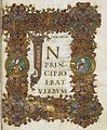 Opening of St John's Gospel - Cnut Gospels (c.1020), f.111 - BL Royal MS 1 D IX.jpg