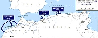 Operation Torch - Image: Operation Torch map