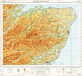 Ordnance Survey Quarter-inch sheet 5 Eastern Highlands, published 1967.jpg