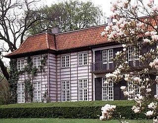 Ordrupgaard state-owned art museum in Denmark