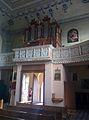 Organ in Church of Saint John the Baptist in Kamai, Belarus.jpg