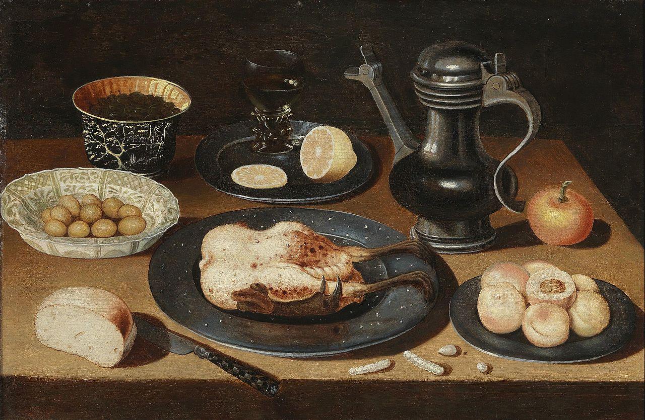 https://upload.wikimedia.org/wikipedia/commons/thumb/f/fe/Osias_Beert_I_%28circle%29_Still_life_with_roasted_chicken.jpg/1280px-Osias_Beert_I_%28circle%29_Still_life_with_roasted_chicken.jpg