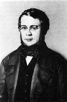 Otto Jahn in Leipzig, 1847 (Quelle: Wikimedia)