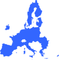 OutlineoftheEuropeanUnioninBlue.png