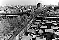 Overzicht van het Luchtspoor, de Binnenrotte, de Sint-Laurenskerk, de PTT-toren en het Witte Huis 1987.jpg