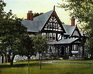 Bronxville, New York - Image: Owl House Bronxville NY 1898