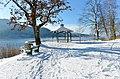 Pörtschach Halbinselpromenade Landspitz Aussichtspunkt Rondeau 29122014 774.jpg