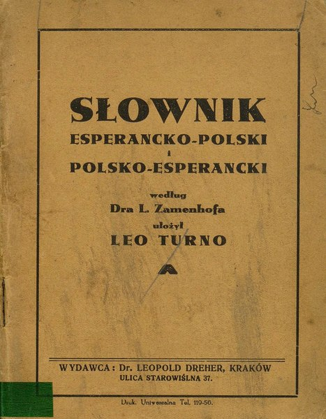 File:PL EO Dreher - Słownik esperancko-polski polsko-esperancki.djvu