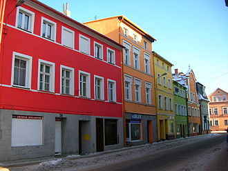 Kamienna Góra - Old Town in winter