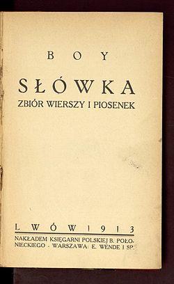 Słówka Zbiór Wierszy I Piosenek Wikiźródła Wolna Biblioteka