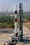 PSLV-C44 at First Launch Pad SDSC SHAR Sriharikota 11.jpg