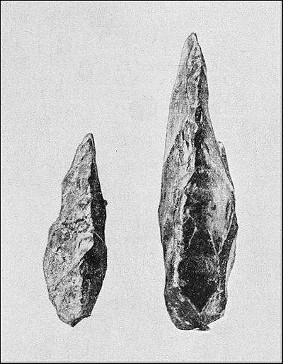 PSM V39 D331 Paleolithic tools from Newcomerstown and Amiens.jpg