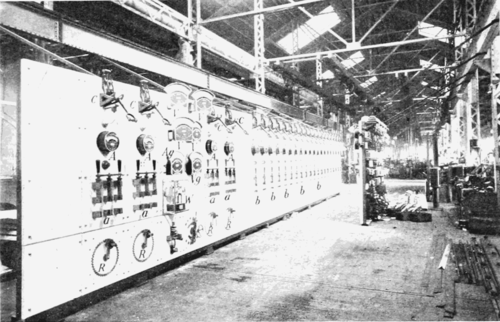 PSM V56 D0435 Electric railway switchboard.png