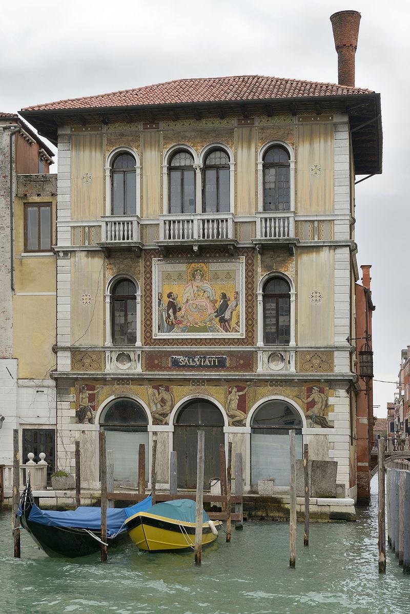 玻璃镜安东尼萨尔维亚蒂意大利玻璃马赛克艺术家 Antonio Salviati (Italian, 1816–1890) - 文铮 - 柳州文铮