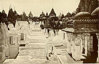Palitana temples - Palitana temples in 1913