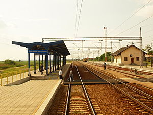 Serbian Railways - Nova Pazova railway station.