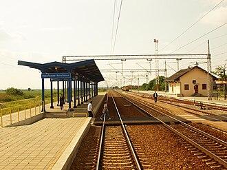 Serbian Railways - Nova Pazova railway station.