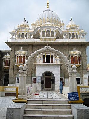 Akali movement - Gurdwara Panja Sahib at Hasan Abdal