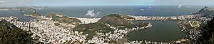 Panorama from Rio de Janeiro