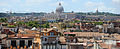 Panoramic view of Rome with St. Peter's Basilica centering the composition. Rome, Italy.jpg