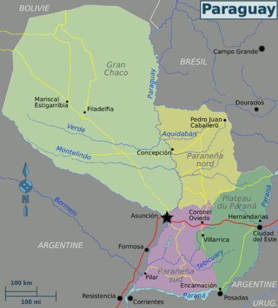 Paraguay regions map (fr).png