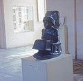 Paris - Louvre - Sumerian Statue of Gudea (2120 B.C.) 1960.jpg