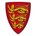 "Parliamentary Roll (Papworth N) Shield 0001 ""Le Roy de Engletere"" (The King of England).png"