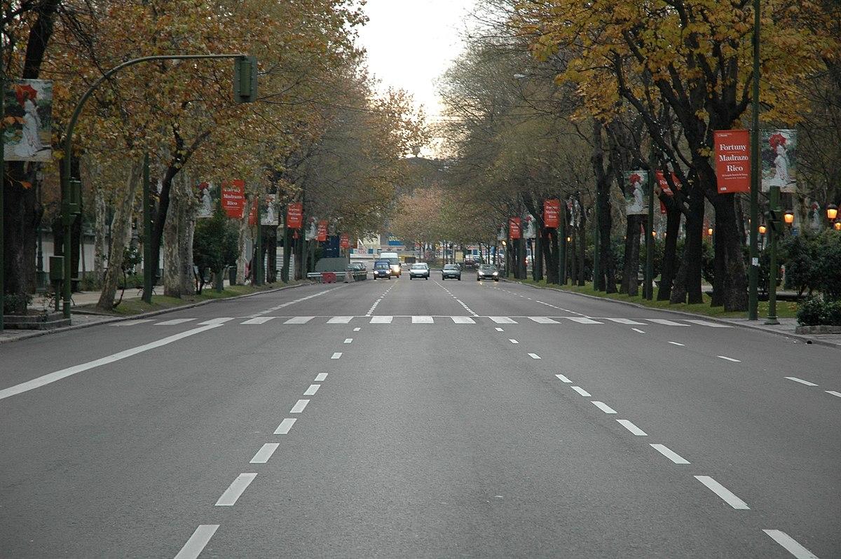 Paseo del prado wikipedia for Restaurante lamucca de prado madrid