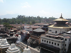 Newa architecture - The temple of Pashupatinath