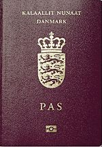 Three images of the covers of passports