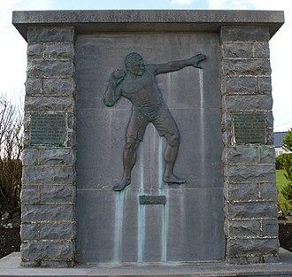 Pat McDonald (athlete) - Pat McDonald Memorial at White Strand, Doonbeg, County Clare, Ireland