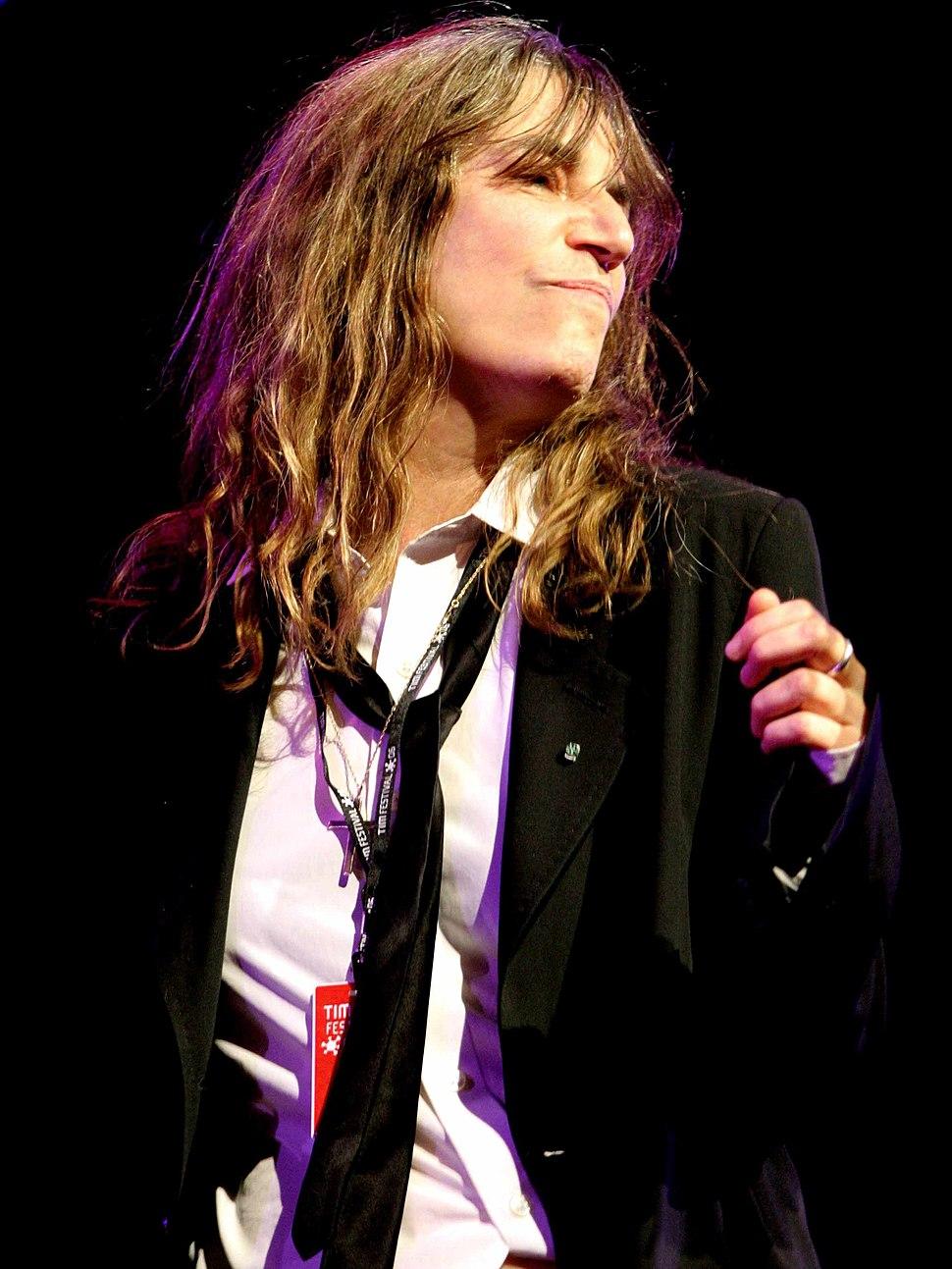 Patti Smith performing at TIM Festival, Marina da Gloria, Rio De Janeiro (4)