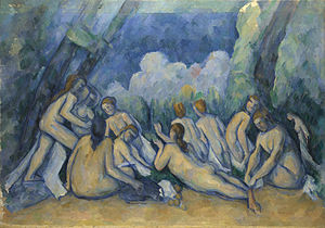 New Poems - Paul Cézanne's The Bathers. Rilke saw this painting at the Paris retrospective of 1907